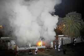 El Luis Sitjar arde de nuevo