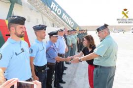 La Delegada del Gobierno en Baleares visita el buque oceánico 'Río Miño'