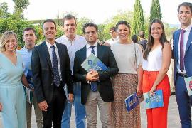 Fiesta de graduación en la Facultat d'Economia i Empresa