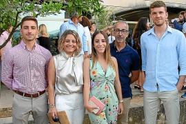 Joan A. Ferrer, Coloma Clar, Aina y Biel Ferrer y Xisco Garí.