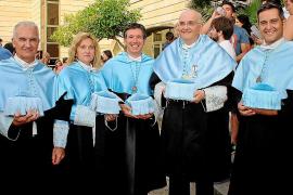 Fiesta de graduación en la Facultat de Filosofia i Lletres