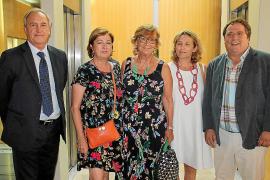 Martín Alenyar, Piedad Marín, Rosa Cosmelli, Sonia Vidal y Manuel Alcarreta..