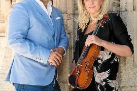 Nina Heidenreich y Pablo Mielgo unen sus instrumentos con fines benéficos