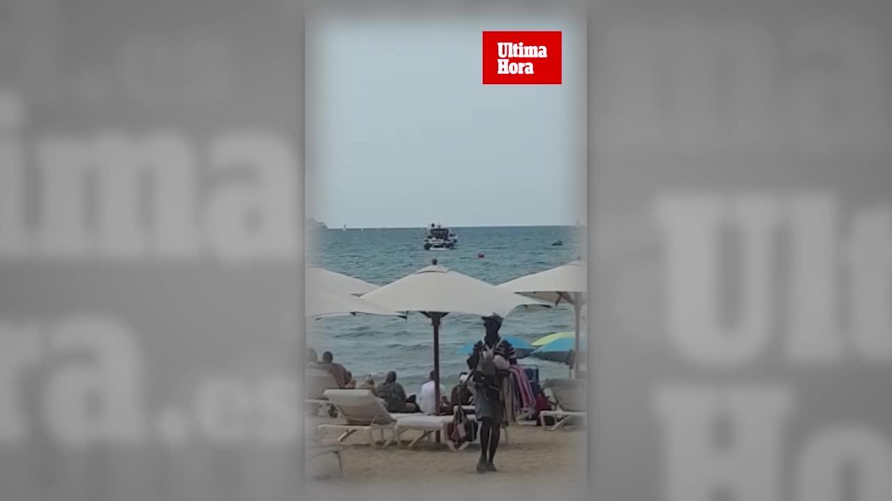 Denuncian la presencia de 'party boats' en la Playa de Palma