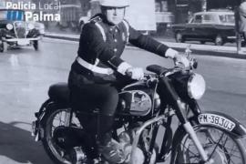 La sección motorizada de la Policía Local de Palma cumple 60 años
