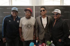 'The Jacksons' prometen que harán bailar al público en Port Adriano