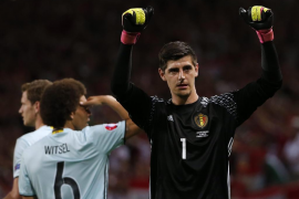 Courtois ficha por el Real Madrid por seis temporadas