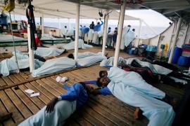 El Open Arms llega este jueves al puerto de Algeciras con 87 inmigrantes