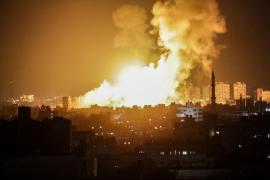 Ataques aéreos de Israel a territorios en control de Hamas