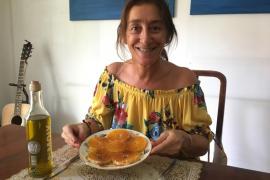 Carpaccio de naranja, por Pilar Arévalo