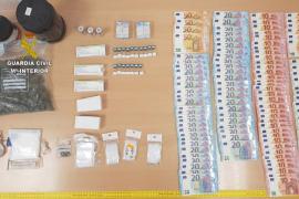 Dos detenidos por tráfico de drogas tras intentar evitar un control policial en Calvià