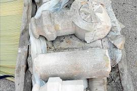Rescatada la cruz de Ca na Cantona de una restauración sin control de Patrimoni