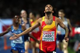Fernando Carro, plata en los 3.000 obstáculos del Europeo