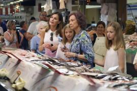 Los Reyes cierran sus vacaciones en Palma marcada por los encuentros familiares