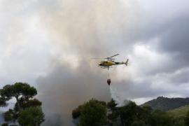 Incendio en Costa de los Pinos