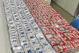 Sorprendidos con 2.448 paquetes de tabaco en Palma