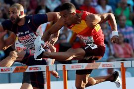 Orlando Ortega bronce en 110 metros vallas