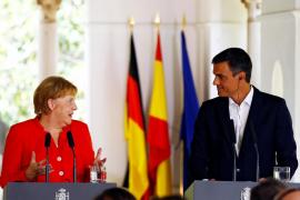Pedro Sánchez y Angela Merkel acuerdan hacer frente a la crisis migratoria