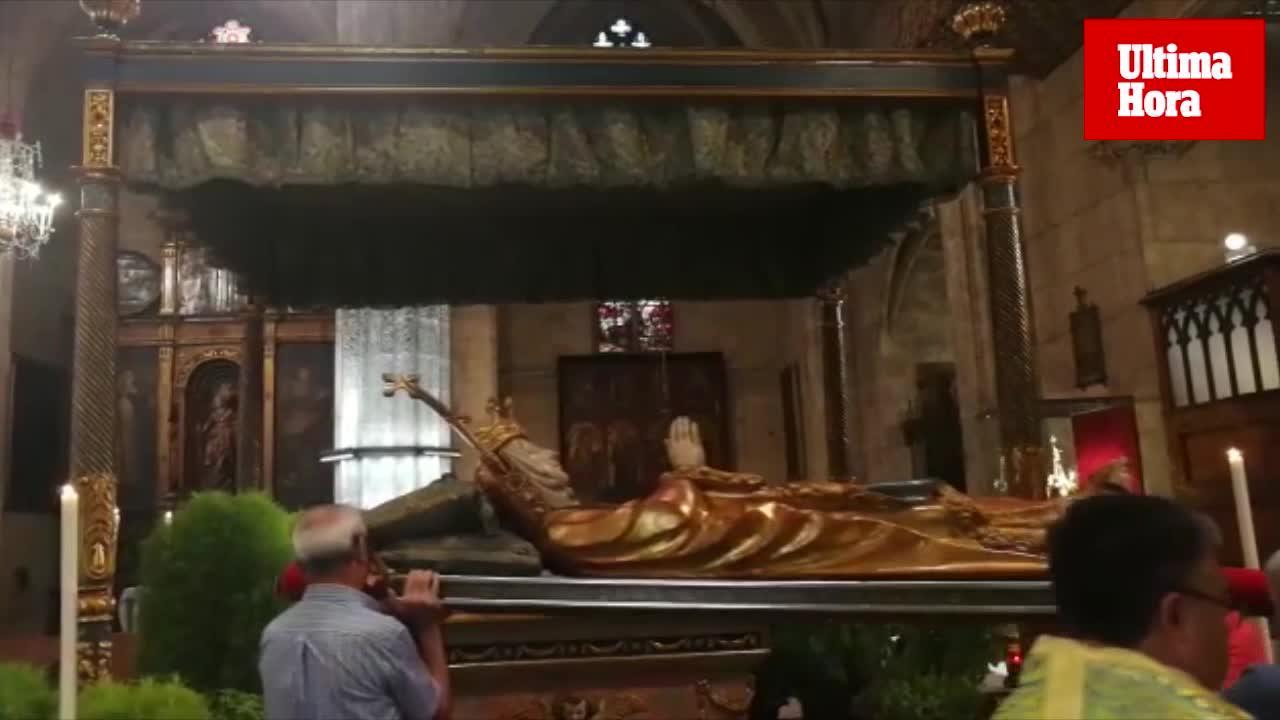 Santa Eulàlia celebra la festividad de la Asunción