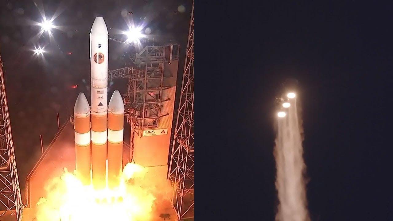 La NASA lanza con éxito la sonda Parker con el objetivo de «tocar» el Sol