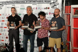 Bestard y Cabotá triunfan en el XVII certamen de cine 'El Pecado' de Llerena