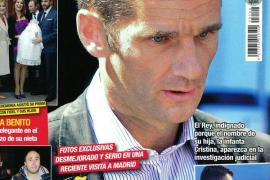 Las últimas imágenes de Iñaki Urdangarín muestran su aspecto muy desmejorado