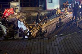 Más de 300 heridos tras desplomarse una plataforma en el festival O Marisquiño en Vigo