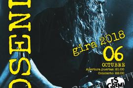 Rosendo se despide del público de Mallorca con un concierto en Es Gremi