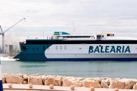 Baleària reembolsará los billetes a los pasajeros del barco Ibiza-Palma por un fallo en el aire acondicionado