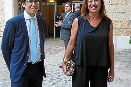 Iago Negueruela y Francina Armengol.