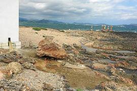 Una avería en la impulsora de Son Bauló causa un vertido de aguas sucias al mar