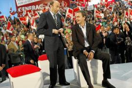 Zapatero, sobre el fin de ETA: «Nada hubiera sido posible sin Rubalcaba»