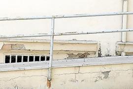 Quejas por la falta de mantenimiento en el Hospital Psiquiátrico de Palma