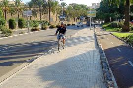 Los ciclistas que circulen por la acera podrán ser multados hasta con 500 euros