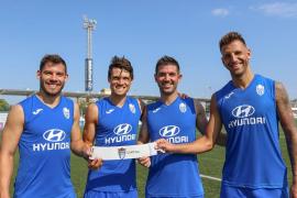 El Atlético Baleares reparte galones