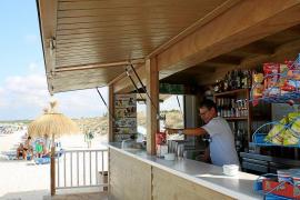 Chiringuitos y restaurantes reclaman la apertura de un párking en ses Covetes