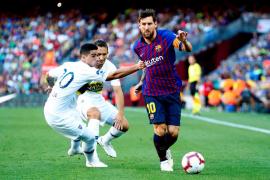 Malcom, Messi y Rafinha le dan el Trofeo Joan Gamper al Barça