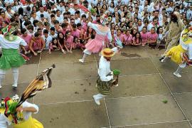 Los Cossiers de Montuïri danzan con el reconocimiento insular de Festa d'Interès Cultural