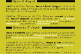 Fiestas de verano de Cala Sant Vicenç