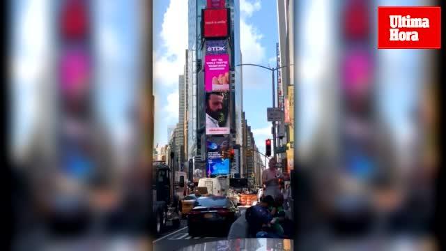 'Ultima Hora' conquista Times Square en su 125 aniversario de la mano de Domingo Zapata