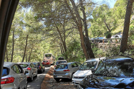 Un nuevo colapso en la carretera de Formentor desata las críticas de los usuarios