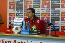 'Chico' asegura que ante el Granada y el Racing sumarán «los seis puntos»