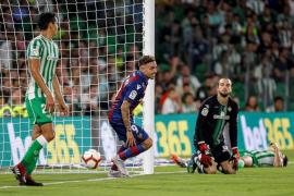 El Betis inicia la temporada con derrota ante el Levante