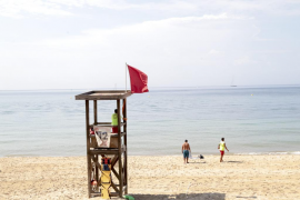 Las playas de Can Pere Antoni y Ciutat Jardí estarán este domingo cerradas al baño