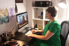 La psicología 'online' viaja desde Bunyola al mundo