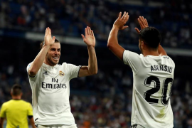 Carvajal y Bale dan la victoria al Madrid ante el Getafe