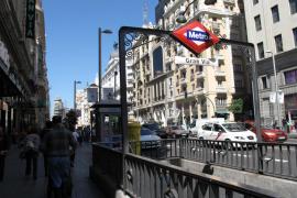 La estación de Metro de Gran Vía de Madrid cierra hasta abril para mejorar sus servicios