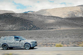 El nuevo BMW X7, puesto a prueba ante las condiciones más adversas