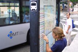 Una caseta móvil de información y venta de la EMT recibirá a los cruceristas