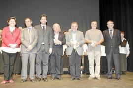 Las Federació de Corals premia a Joan Parets, Francesc Crespí y Miquel Janer